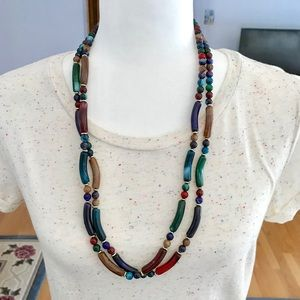 Colorful Fashion Beaded Necklace